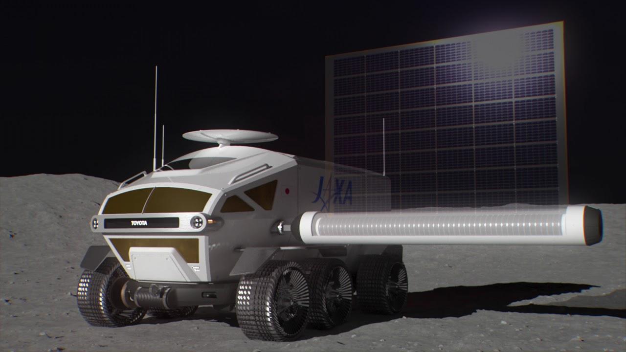 Toyota entwickelt E-Shuttle für Tokio 2020 und bemanntes Wasserstoff-Mondfahrzeug