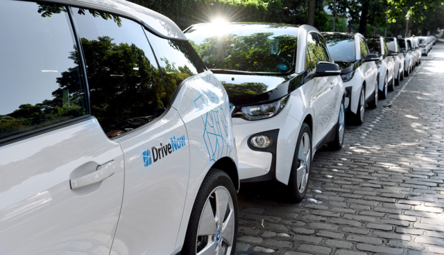 Elektroauto-Quote-Autovermieter
