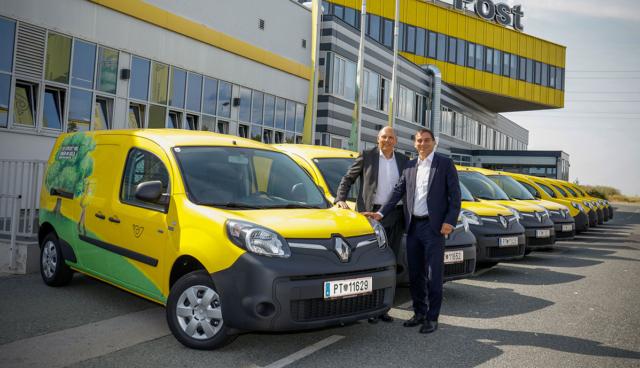 Elektroautos-Post-Oesterreich