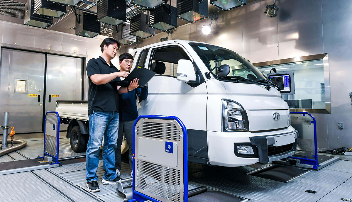Hyundai-Elektro-Nutzfahrzeuge