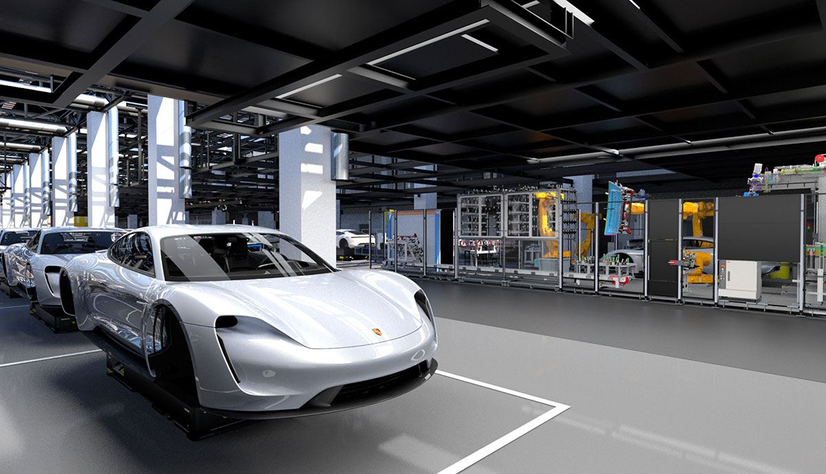 Porsche-Taycan-Flexi-Linie