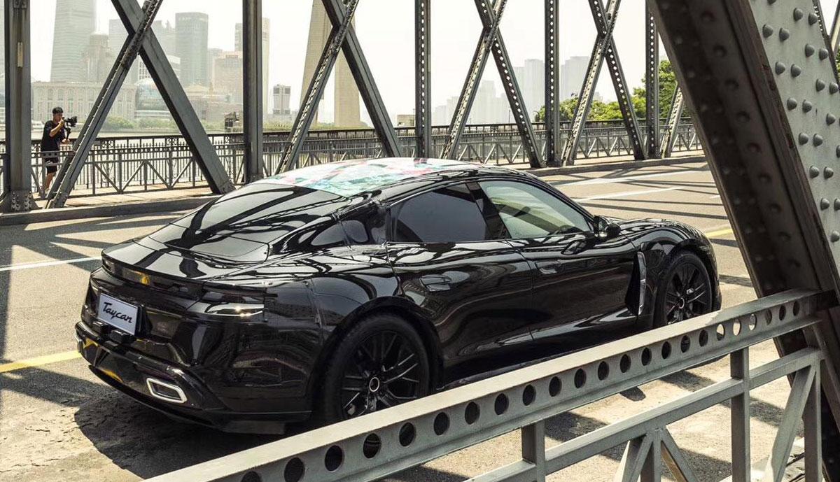 Porsche-Taycan-Prototyp