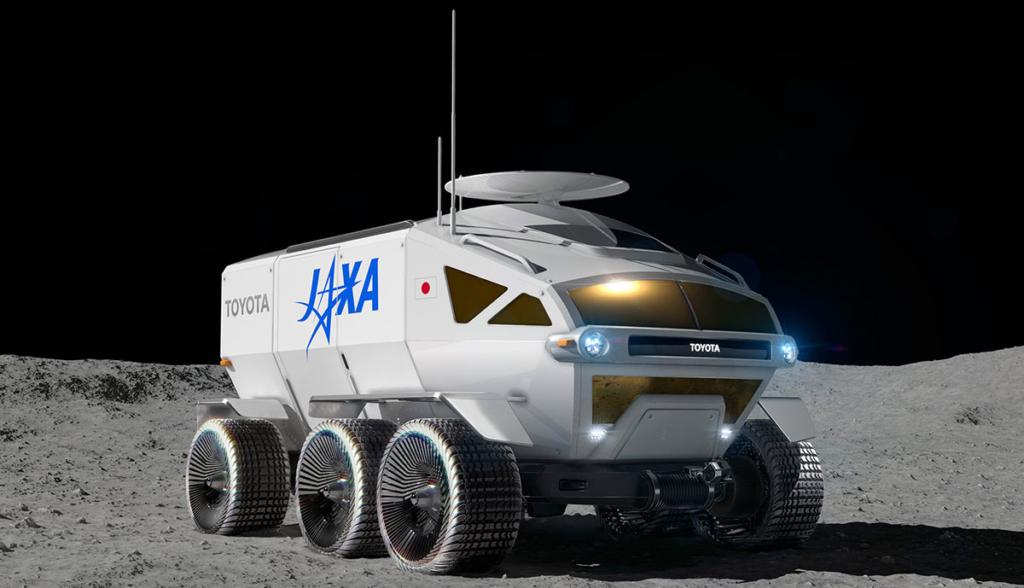 Toyota-Mondfahrzeug