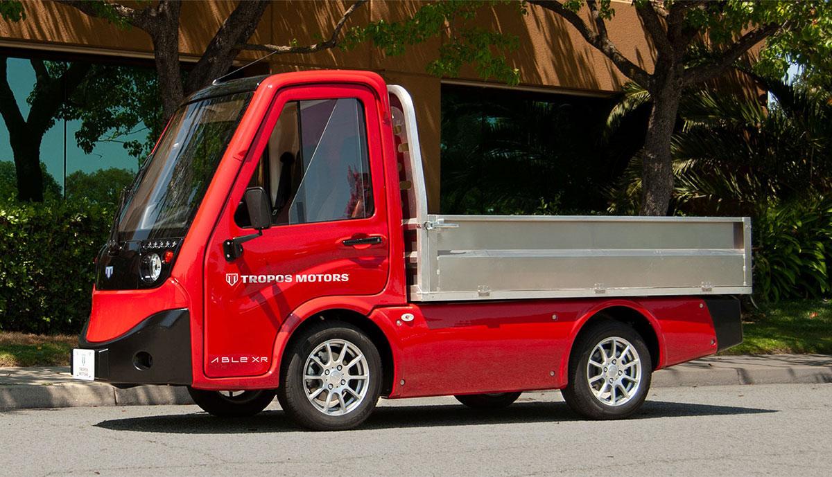 Tropos-Elektro-Transporter