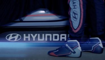 Hyundai-Elektroauto-Rennwagen