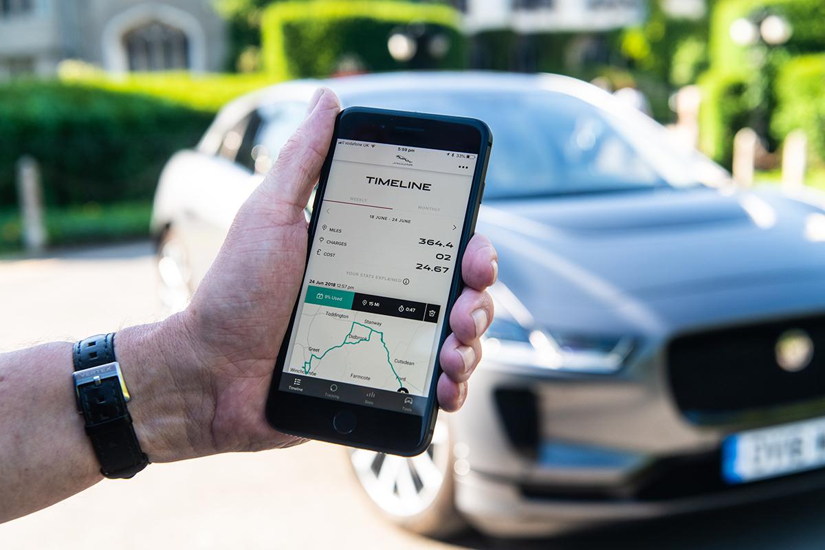 Jaguar-I-Pace-App