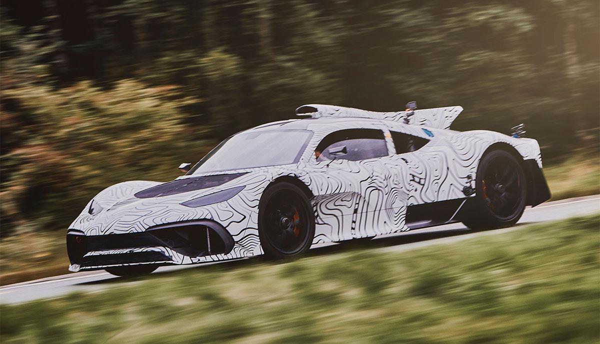 Super-Hybrid AMG Project One verspätet sich um zwei Jahre