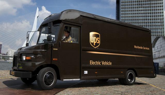 UPS-Elektro-Transporter