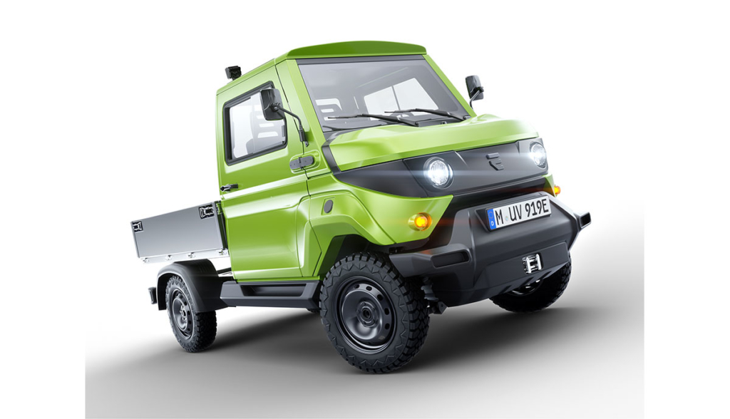 Evum Acar Allrad Elektro Transporter Kommt 2020 Bilder