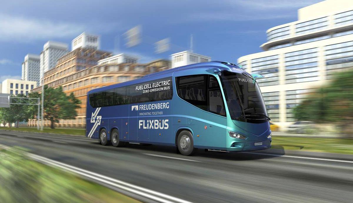 Flixbus-Wasserstoff-Fernbus
