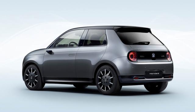Honda-e-Reichweite