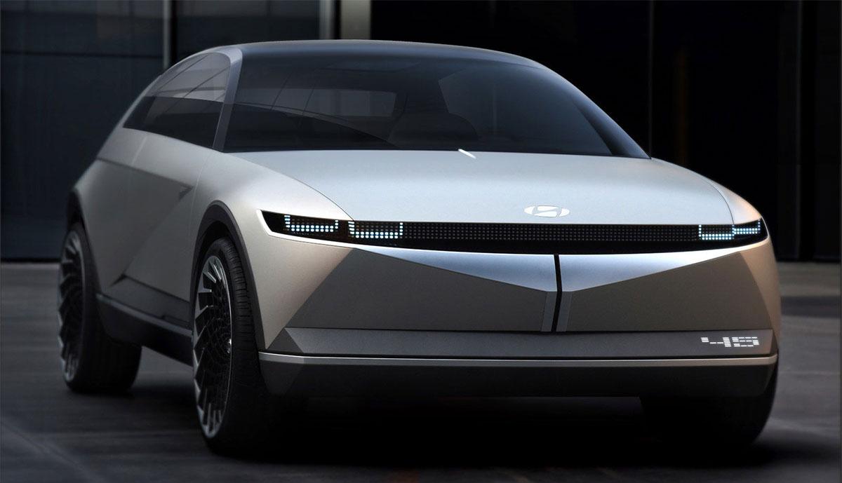"""Hyundai """"45"""" gibt Ausblick auf Elektroauto-Design der Marke"""