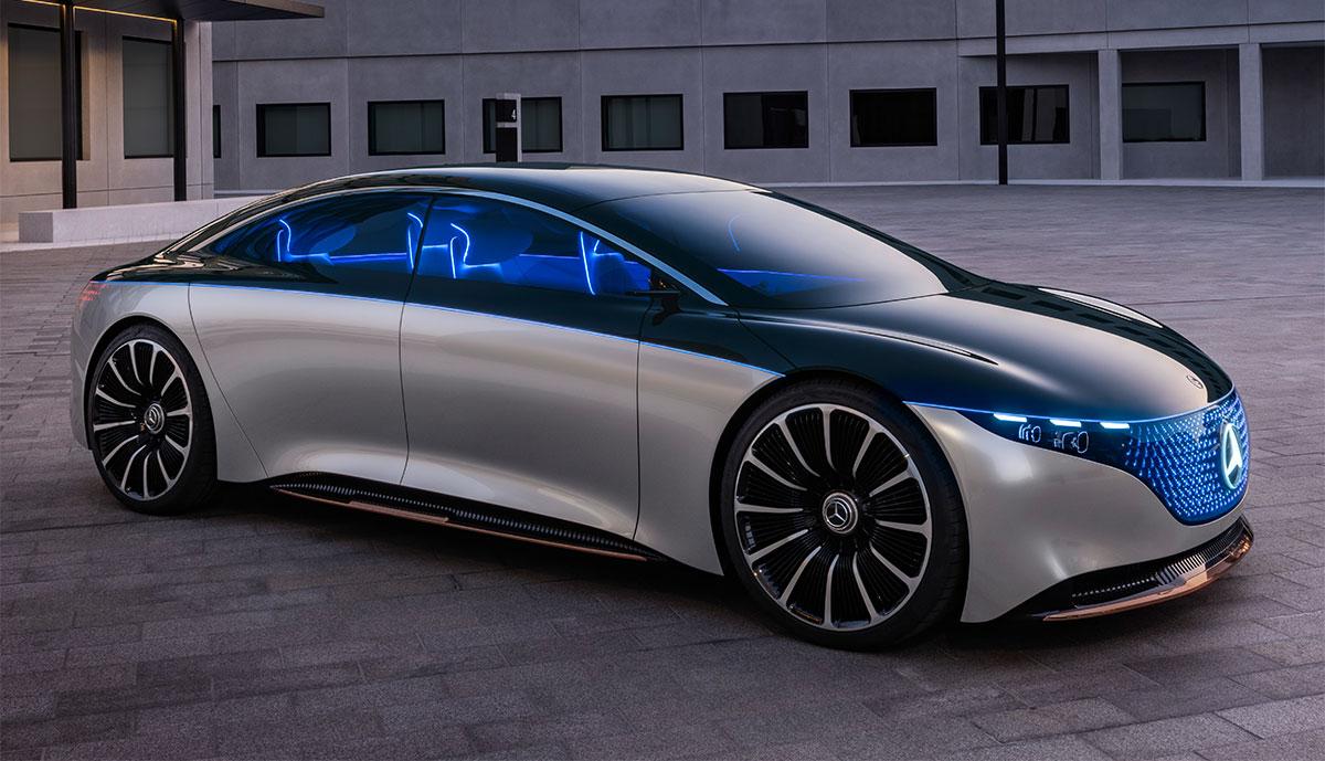Mercedes Elektroauto
