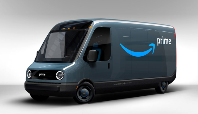 Rivian-Lieferwagen-Amazon