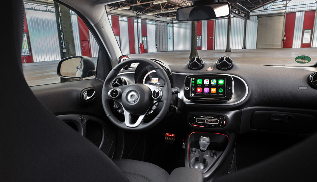Smart ForTwo ForFour Facelift IAA 2019-4