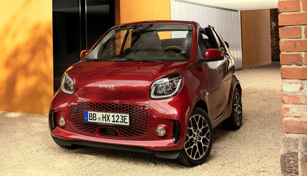 Smart ForTwo ForFour Facelift IAA 2019-5