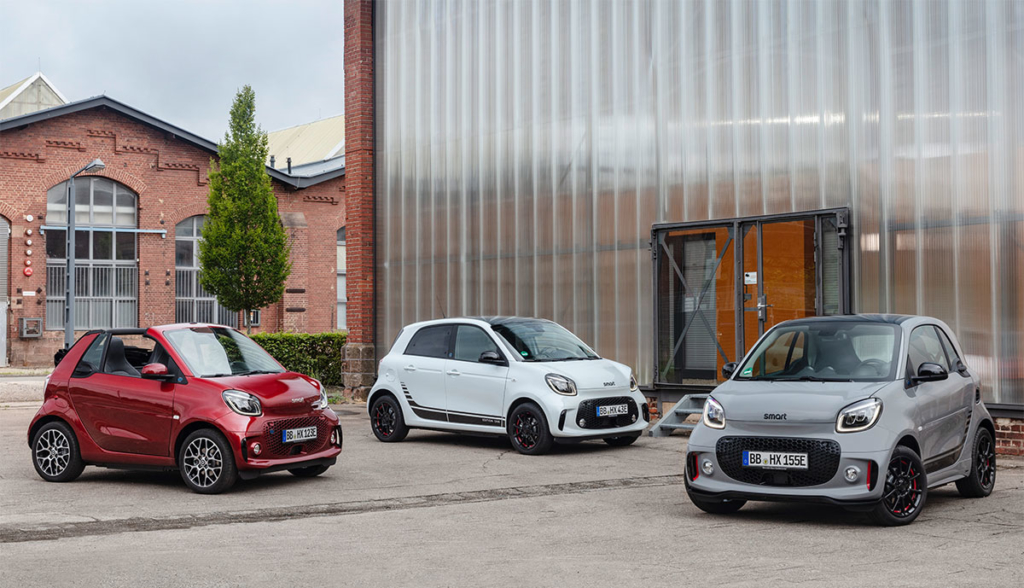 Smart ForTwo ForFour Facelift IAA 2019-7