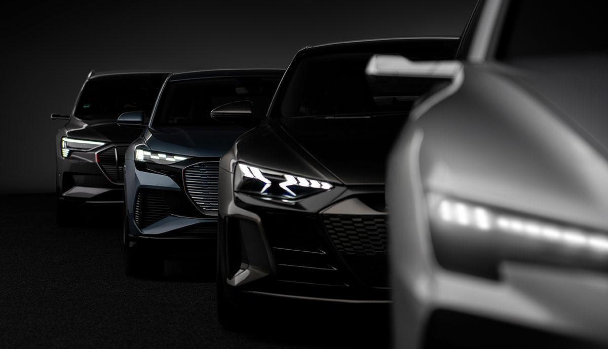 Audi-Elektroauto-Plattformen