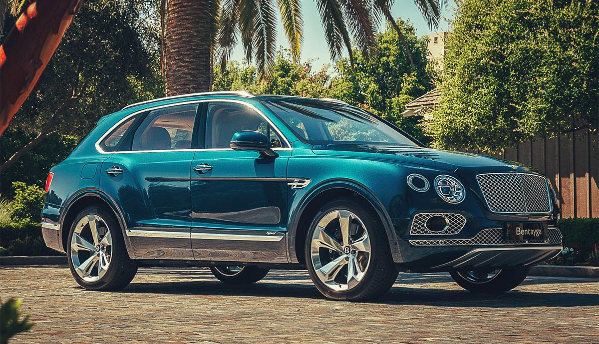 Bentley Bentayga mit Plug-in-Hybrid-Antrieb in Europa bestellbar
