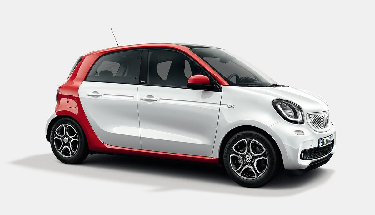 Caritas-Elektroauto-Smart