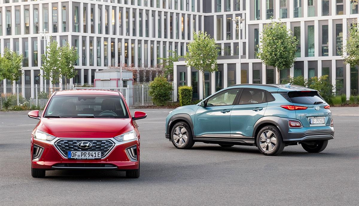 Hyundai-Elektroautos