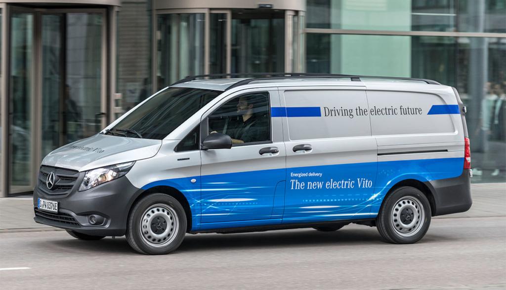 Mercedes eVito kann jetzt auch gemietet werden