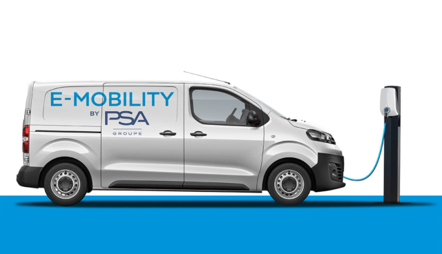 PSA-Elektro-Transporter