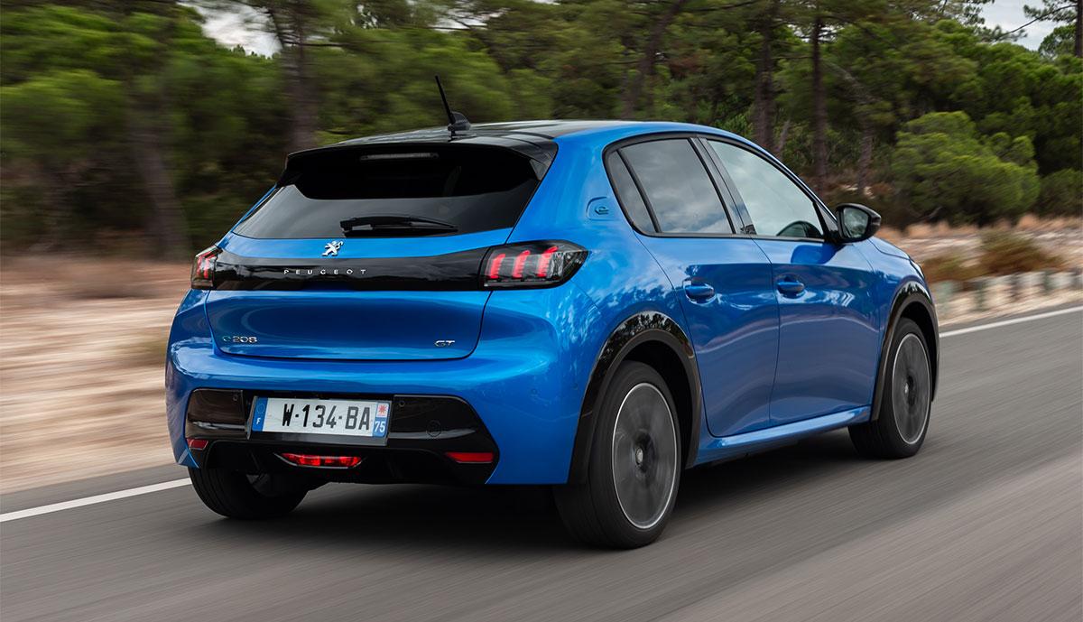 Peugeot-e-208-Heck