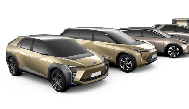 Toyota-Elektroautos