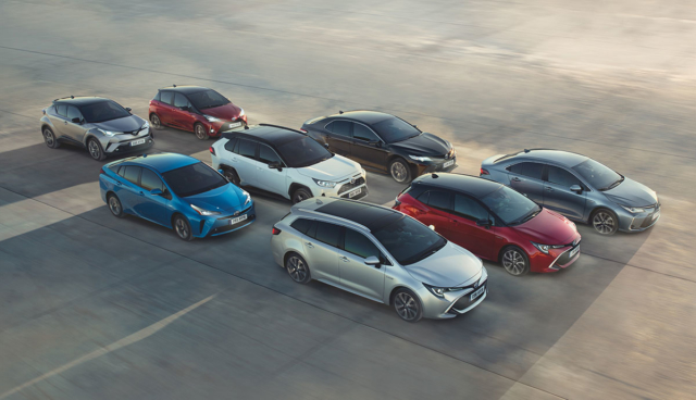 Toyota-Hybride