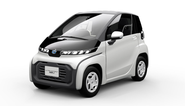 Toyota Ultra Compact BEV 2019-2