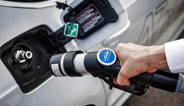 Wasserstoffauto-tanken