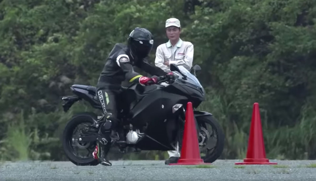Kawasaki-Elektro-Motorrad
