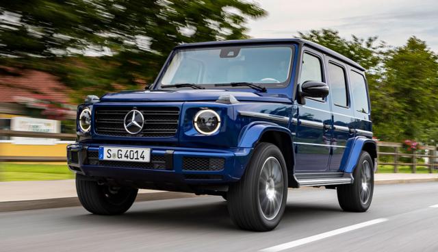 Mercedes-G-Klasse-Elektroauto
