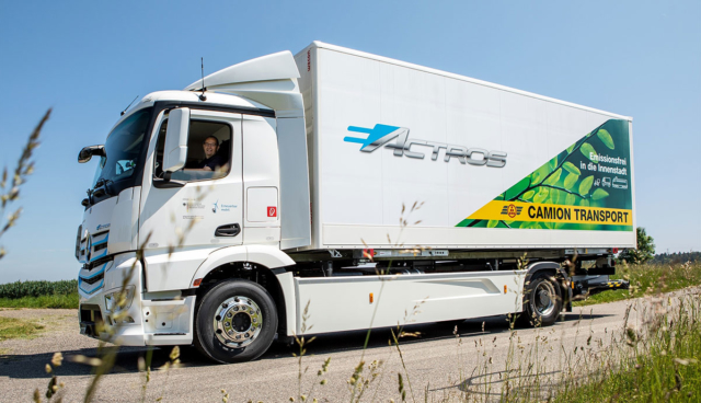Mercedes-eActros-Test