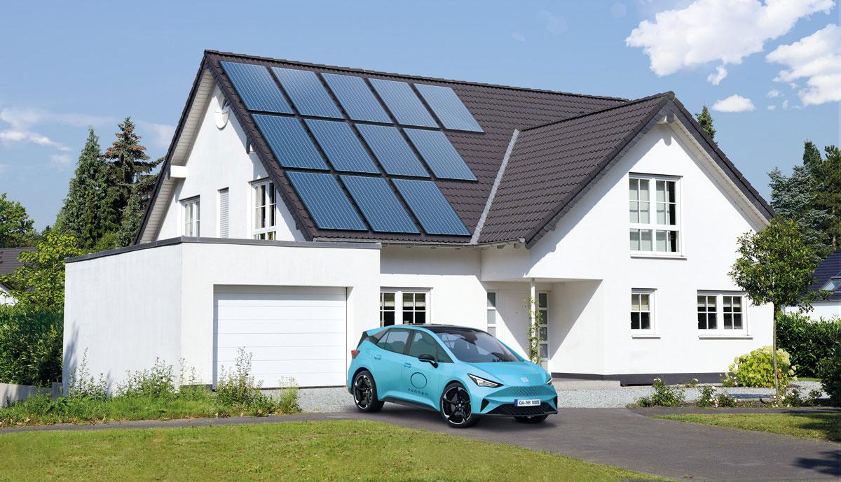 Sonnen-Elektroauto