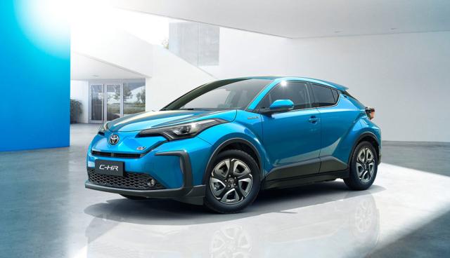 Toyota-BYD-Elektroautos