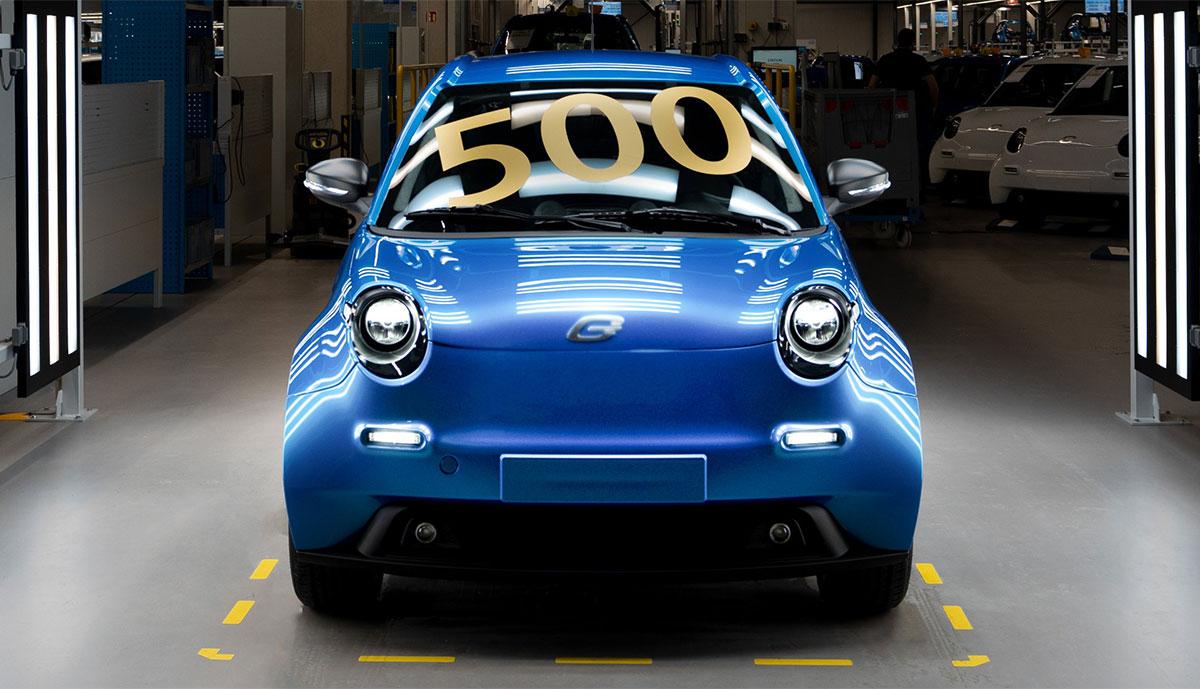e.GO Mobile baut 500stes Elektroauto