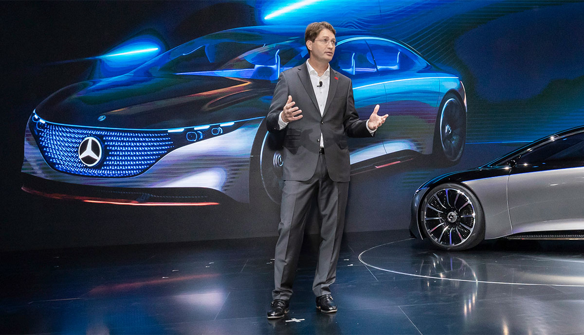 """Daimler-Chef: Elektro weiter """"Kern unserer Strategie"""""""