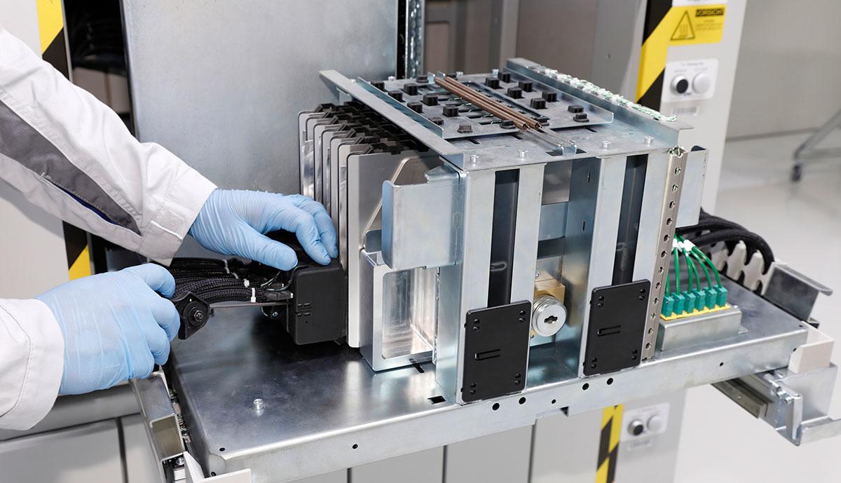 VW-Batteriezellentwicklung