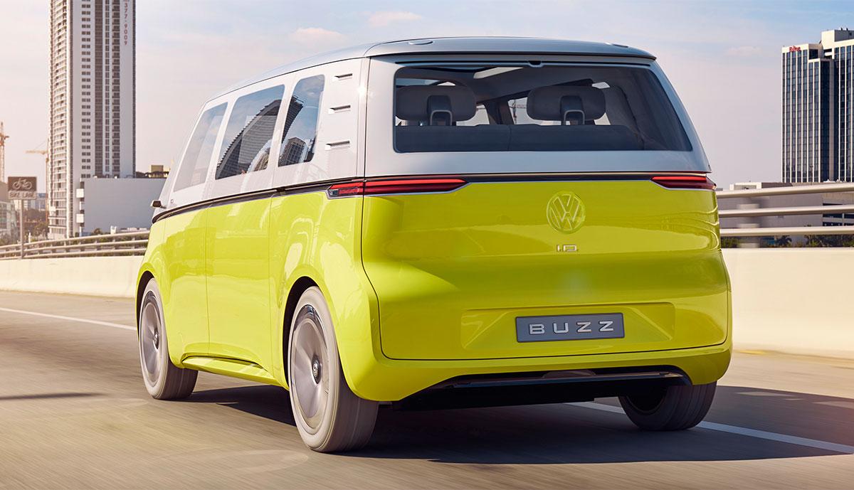 Elektro-VW ID. BUZZ dient als Selbstfahr-Plattform