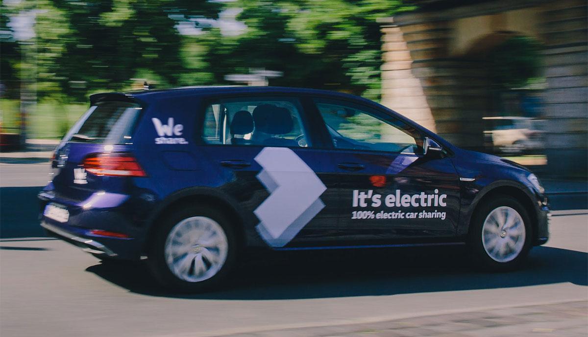 VW-WeShare-e-Golf