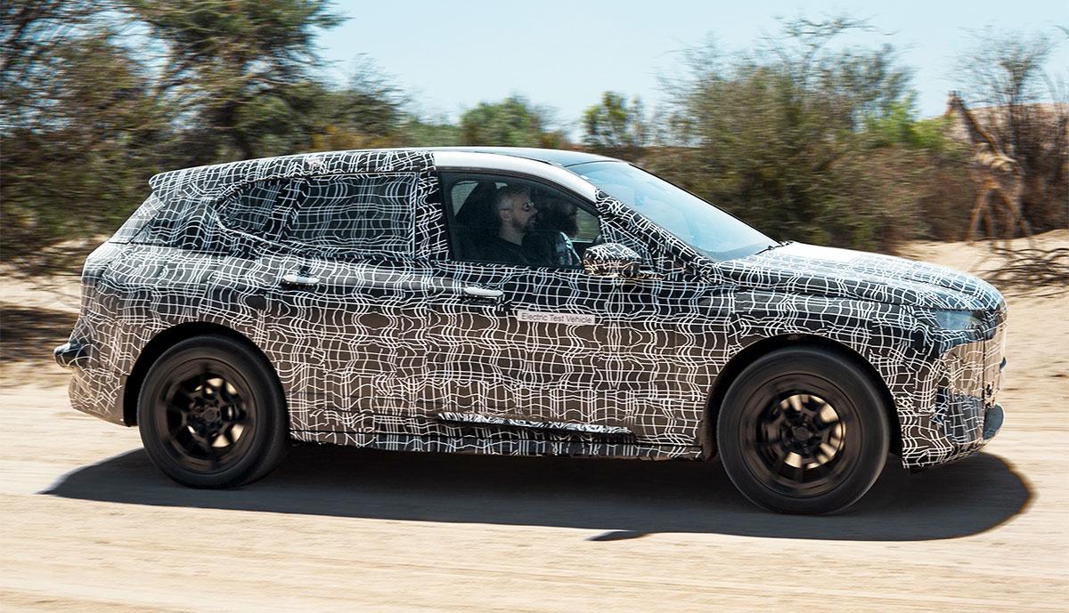 BMW zeigt neues Elektroauto-Flaggschiff bei Tests in ...