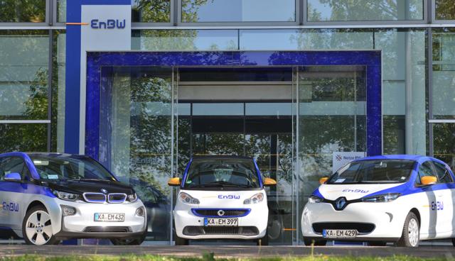 EnBW-Elektroautos