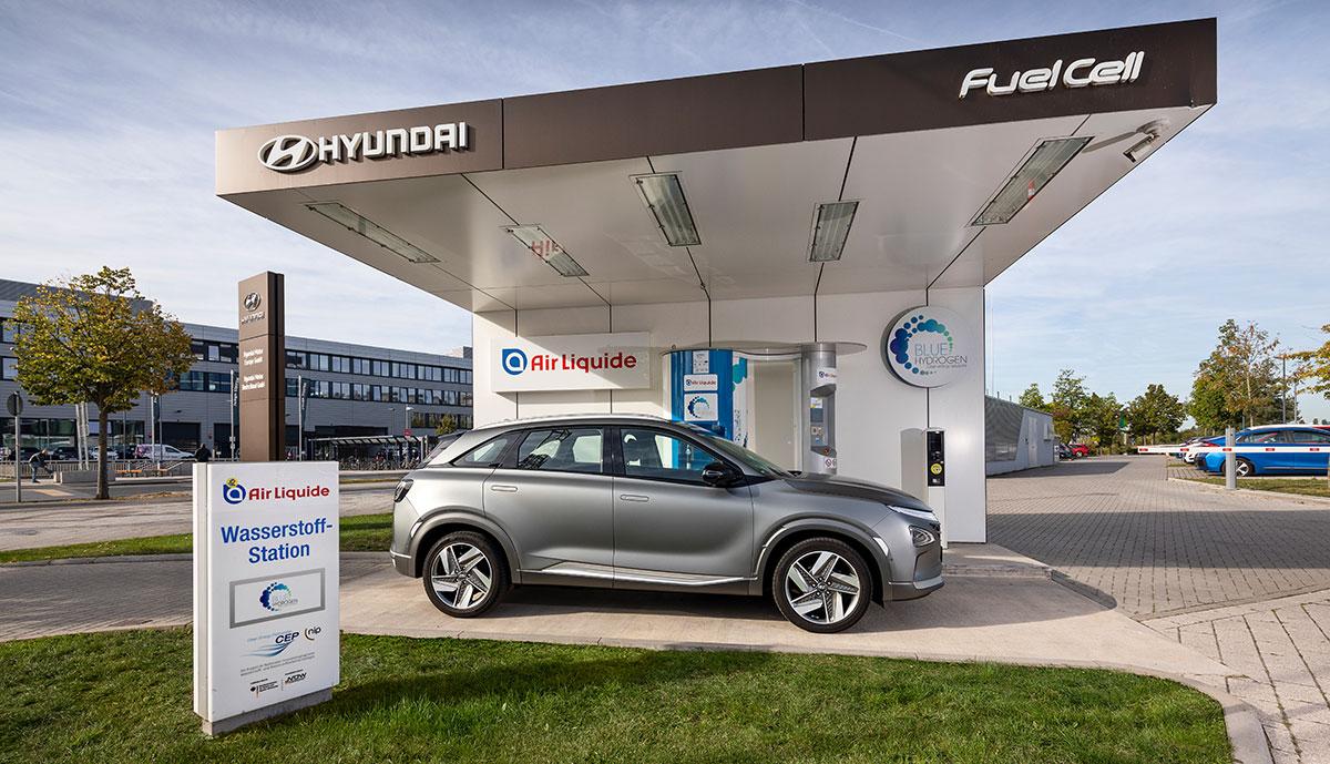 Deutschland jetzt mit 87 Wasserstoff-Tankstellen