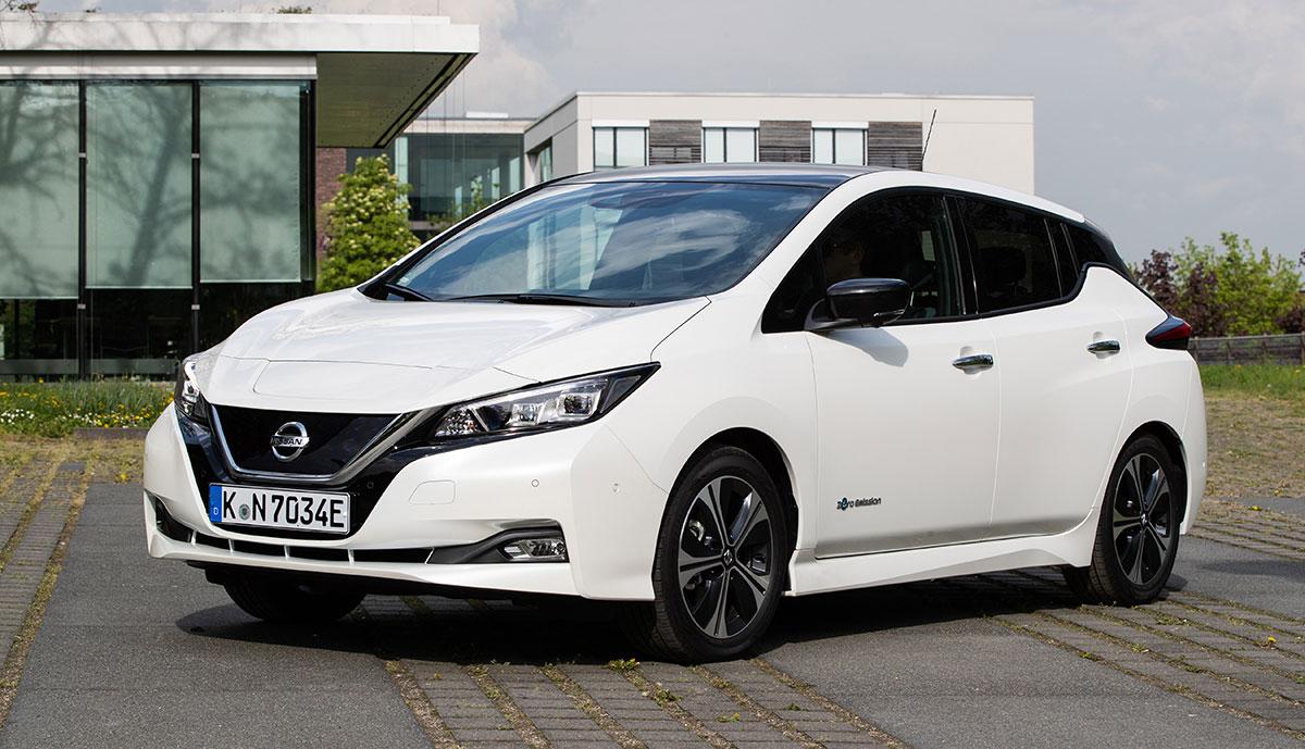 Nissan-Elektroauto LEAF mit bis zu 10.000 Euro Bonus
