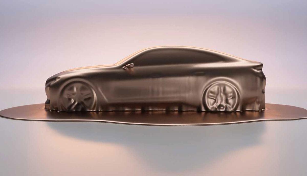 BMW zeigt neuen Teaser für Elektroauto i4