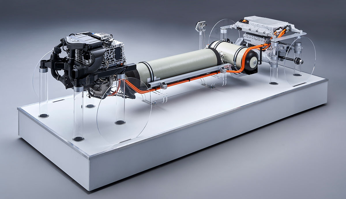 BMW verrät erste Details zu neuem Wasserstoff-Brennstoffzellen-Antrieb