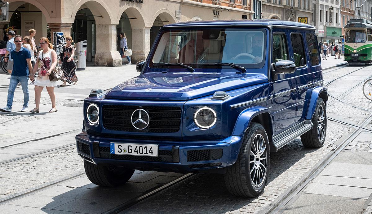Mercedes G-Klasse: Elektroauto-Version bereits in Arbeit