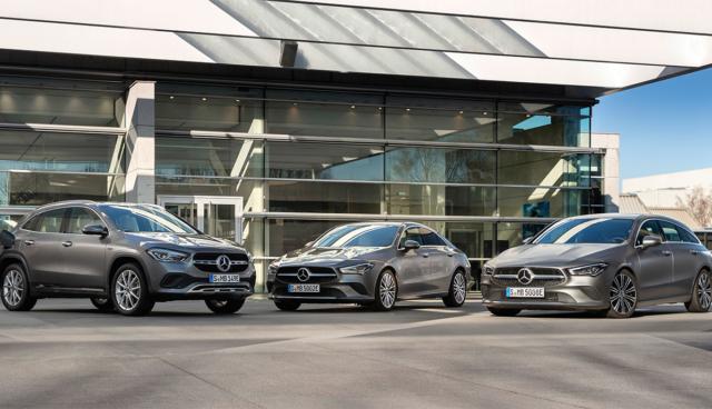 Mercedes-GLA-CLA-Plug-in-Hybrid